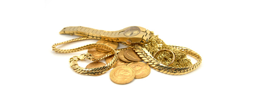 Goldschmuck Verkaufen illustriert durch Symbolbild