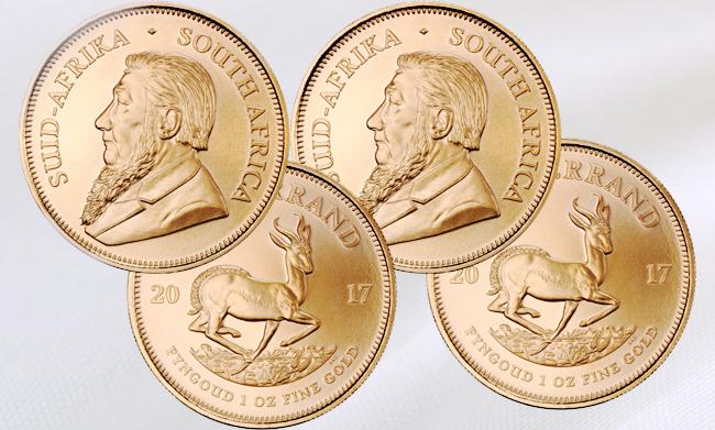 Krügerrand Goldmünzen – Jetzt auch in Silber und Platin